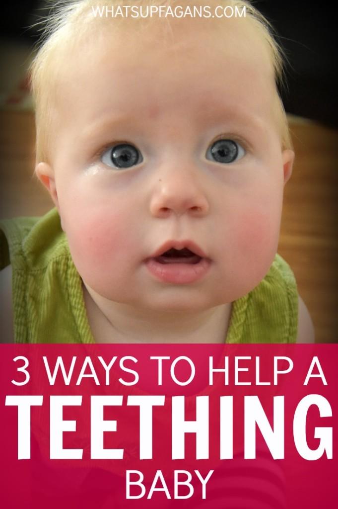 simple parenting tips to help baby teething
