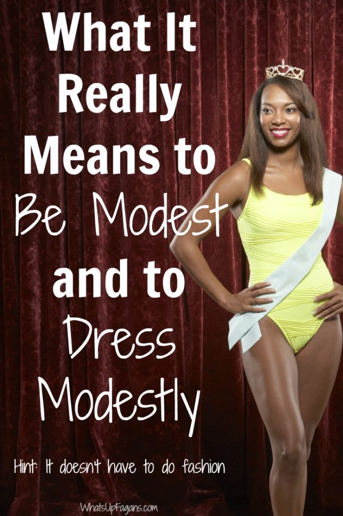 Fantastic article on modesty. Great definition on modesty - what it really means to be modest, wear modest clothes, and why this virtue matters or not anyway.