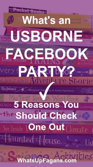 There are so many direct sales companies inviting you to attend their parties, so if you want to know what an Usborne Books & More Facebook Party is, and why you should attend, read this!!