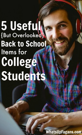 Great list of back to school items for college students!
