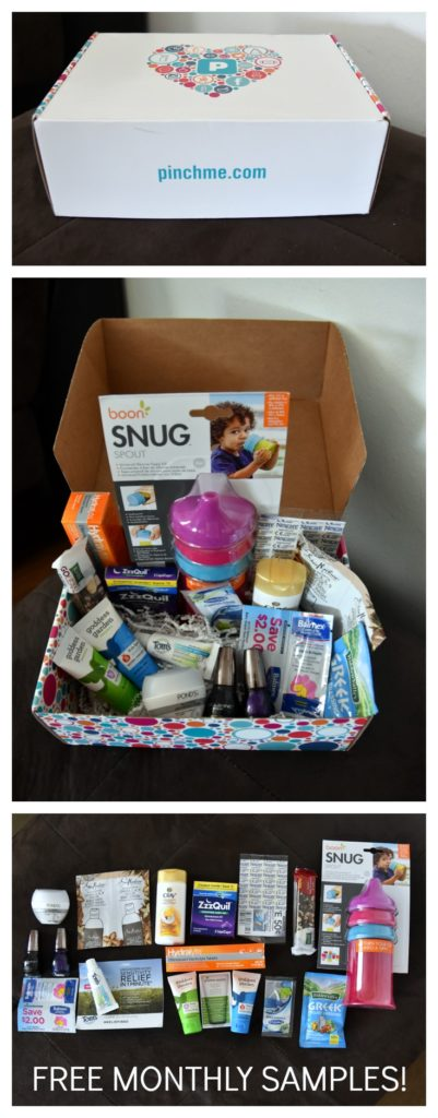 Who doesn't love FREE samples? PINCHme offers completely free samples to people every single month! I need to sign up!