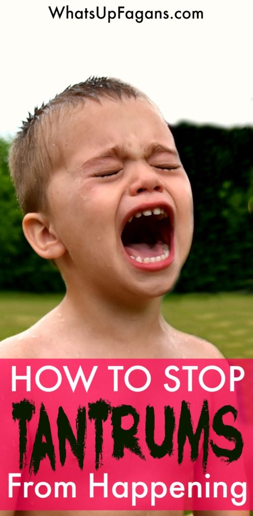 5 parenting tips on how to stop tantrums in toddlers and preschoolers.