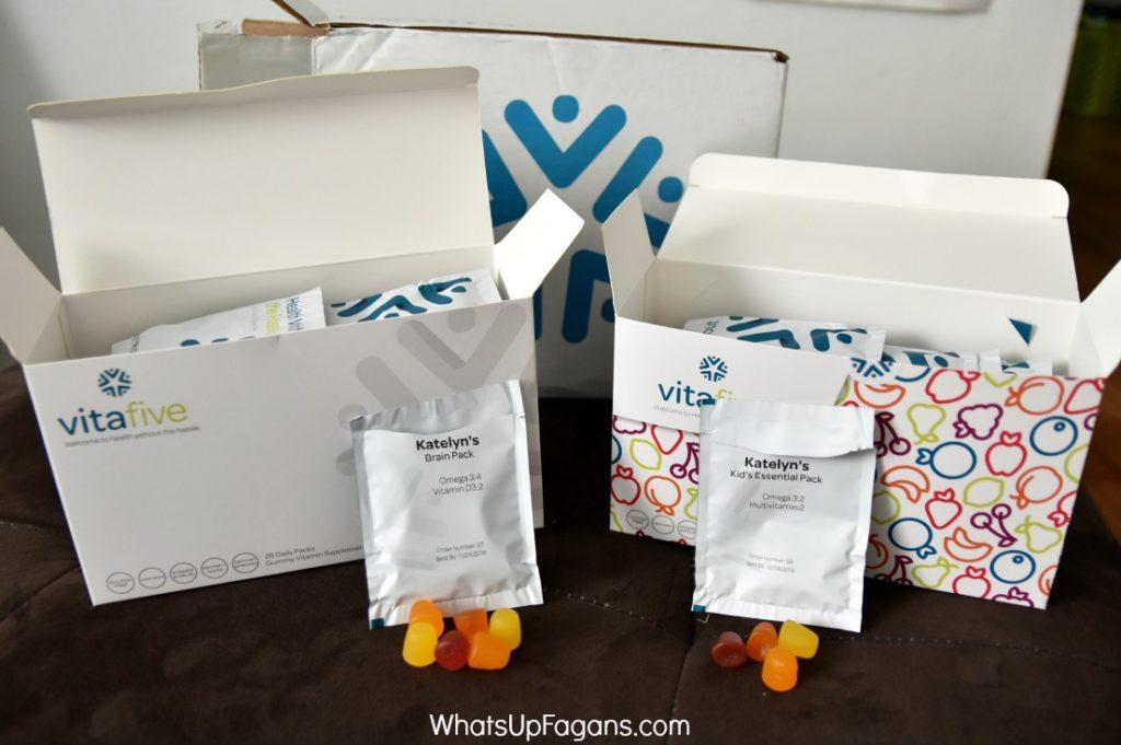 vitafive gummy vitamins review