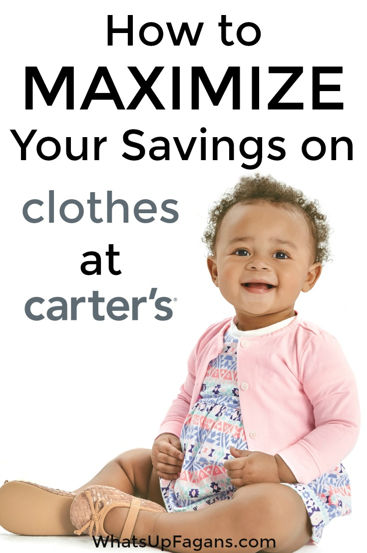 How To Maximize Your Savings On Carter S Baby Clothes