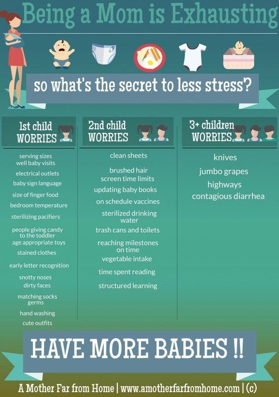 secret to less stress have more kids - a mother far from home