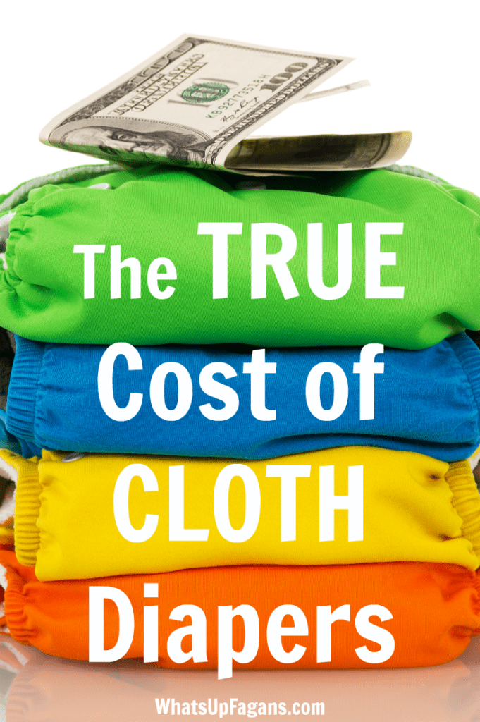 Cloth Diaper Cost - How much cloth diapering really saves you - cloth diaper expenses - cloth diapers vs disposable diapers