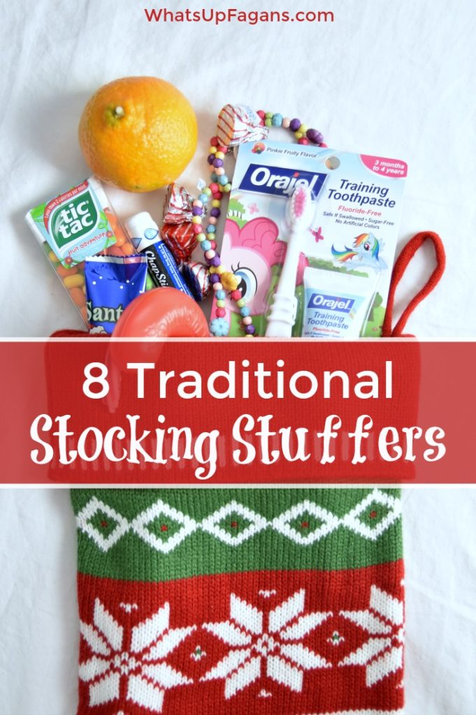 Traditional Christmas Stocking Stuffers Ideas - 8 simple minimalist gifts to include every year in your holidays for him, her and the kids.