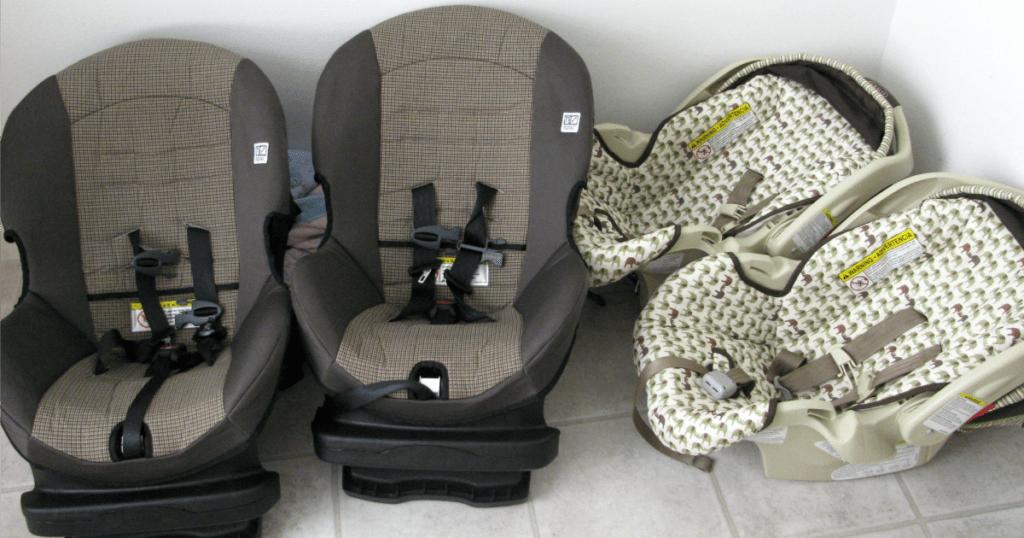 Car Seats convertible vs infant car seats