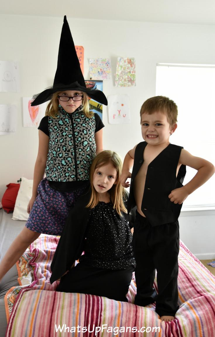 superheroes siblings pretend play