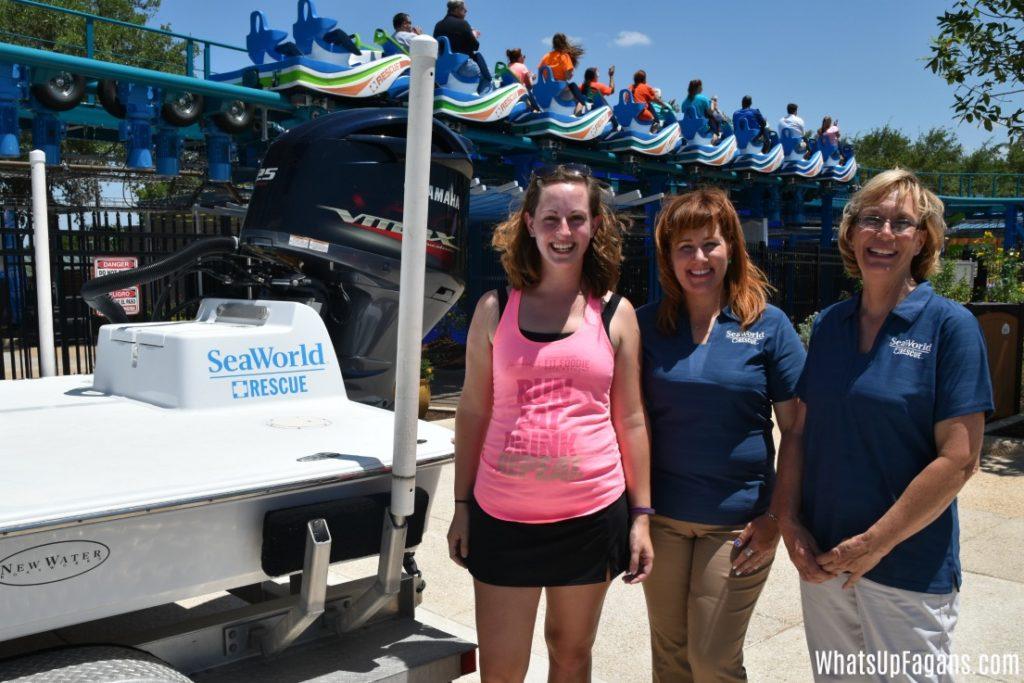Wave Breaker Rescue Team - Jody Westberg and Kim Peterson