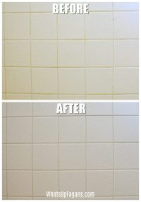 Cleaning Tile Grout With Baking Soda And Vinegar