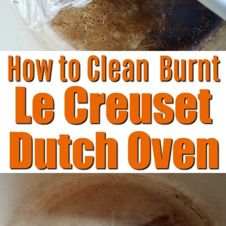 how to clean burnt Le Creuset Dutch Oven pot with toothpaste! Kitchen Cleaning Hack | Toothpaste uses