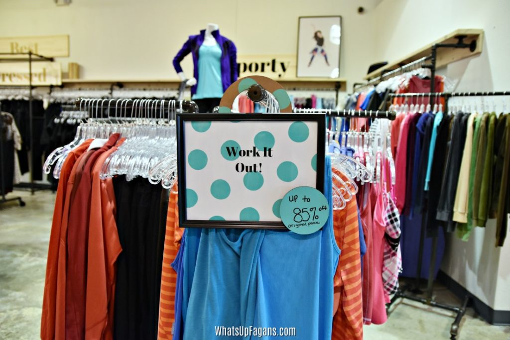 thredup san marcos physical store - workout clothes