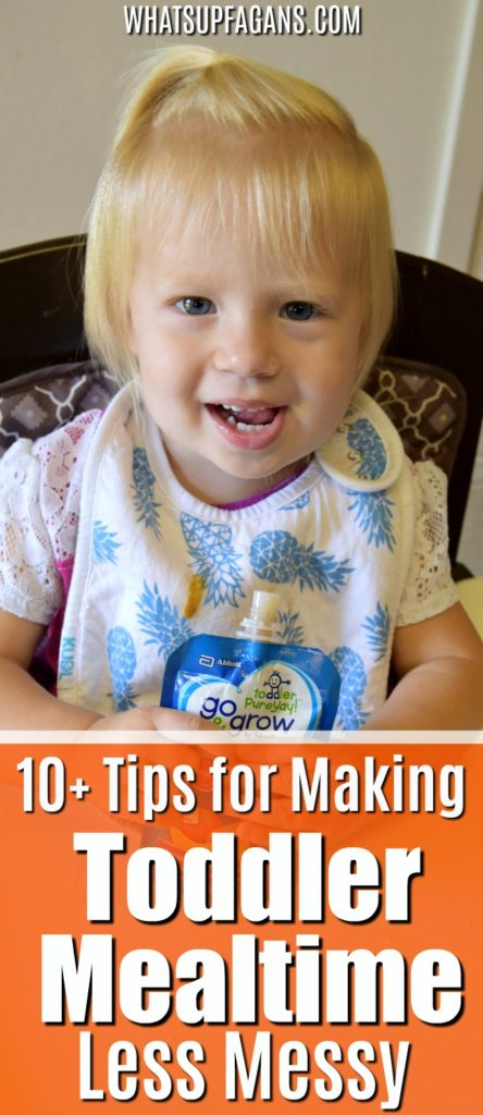 messy eater toddlers - meal time tips for moms of toddlers to limit messes