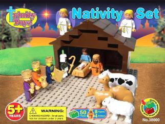 LEGO Nativity Set