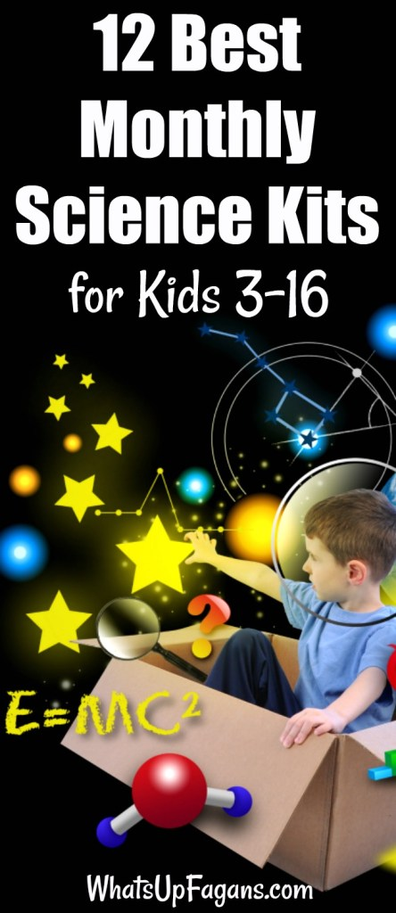 best monthly science kits for kids