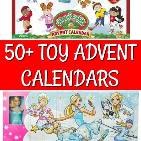 advent calendar with toys