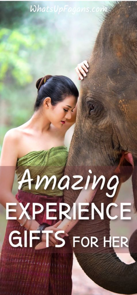 Amazing and fun adventure gift ideas for her! Perfect exciting and exotic experience gifts for her!