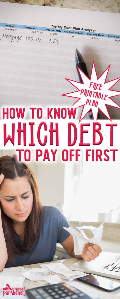 how to know which debt to pay off first