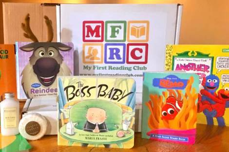My First Reading Club subscription of books for kids