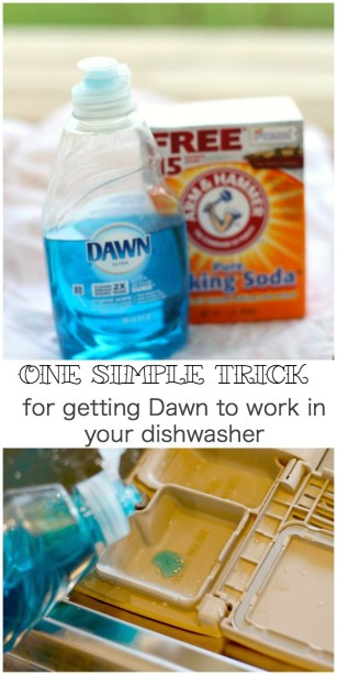 homemade dishwasher detergent recipe