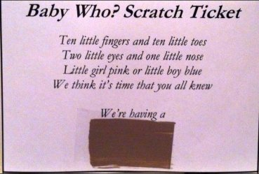 gender reveal poems