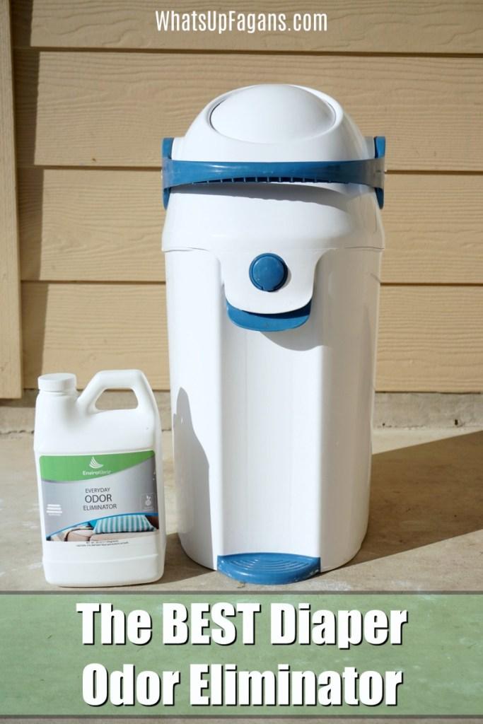 best diaper pail odor control