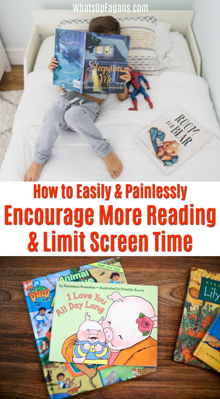 how to encourage a child to read books at home in the summer with a library summer reading program and limit screen time in the process! This is so easy and so genius! #books #library #summerreadingprogram #summerreading #screentime #screenfree #screenfreesummer #chores #homeschool #learning #reading