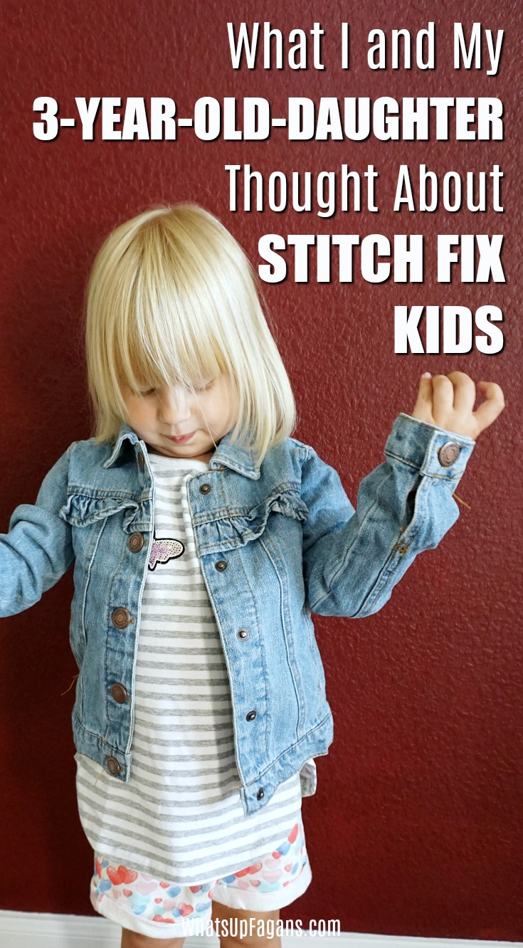 So fun that Stitch Fix is now doing Stitch Fix KIDS!! Great review of their Stitch Fix Kids for toddler girls box! #kidsclothes #stitchfix #clothingsubscriptionbox #subscriptionbox #childrensclothes #children #fashion #girlsfashion #fashionforgirls #girls #toddlers