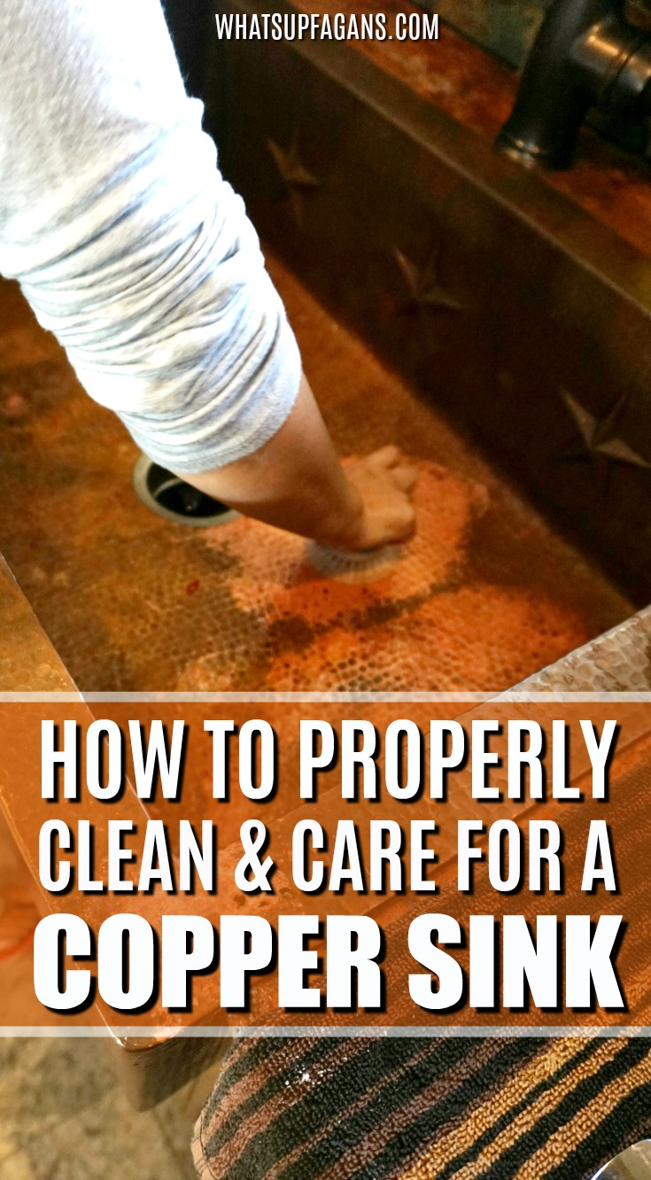 Because they aren't very common, knowing how to clean a copper sink is not common knowledge. Explore all the details of the benefits of copper sinks, proper copper sink care, various copper sink cleaners, and how cleaning copper sinks is easier than you'd think.#kitchen #kitchencleaning #copper #coppersinks #sinkology #cleaning #clean #cleaningtutorial #cleaningtip #coppersink #kitchensinks #kitchensink