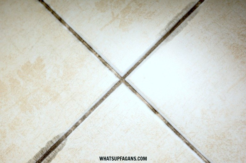 black mold in shower grout