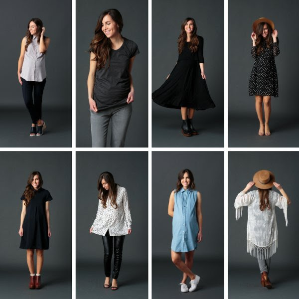 rent maternity wear - dresses, tops, pants from a maternity subscription box