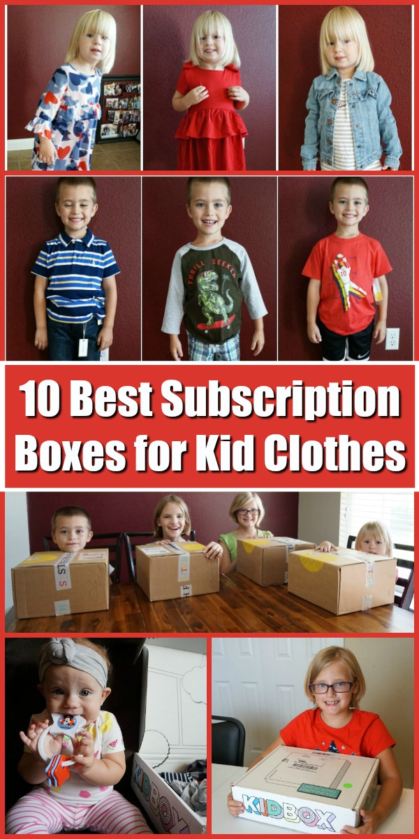 From KidBox clothing to Kidpix clothes, here are the 10 best kids clothes subscription box options for your babies, girls, boys, and even tweens. Easily compare Mac and Mia cost to Stitch Fix Kid prices and figure out which one will best suit your kiddos! #subscriptionbox #girlsclothes #clothesforgirls #boyclothes #girlclothes #kidbox #stitchfixkids #kidpik #babyclothes #kidclothes #boyclothes #toddlerclothes