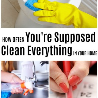 how often should you clean your house
