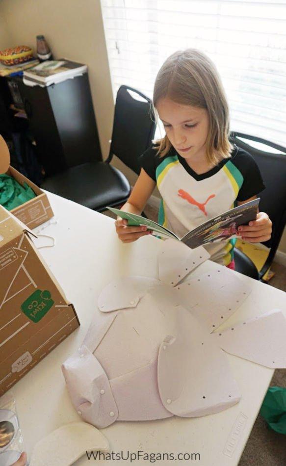 how to make a homemade unicorn costume for kids
