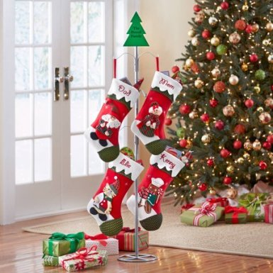 Christmas Stocking Holder Stand.20 Christmas Stocking Holders Ideas For Any Budget And Home
