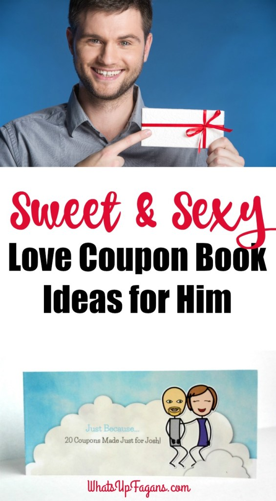 Love Coupon Book Ideas for Him
