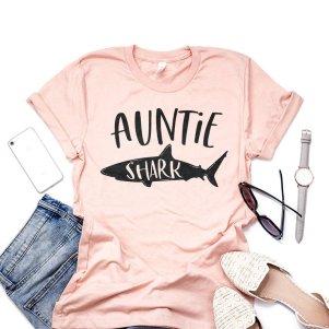 gender reveal shirts for aunts