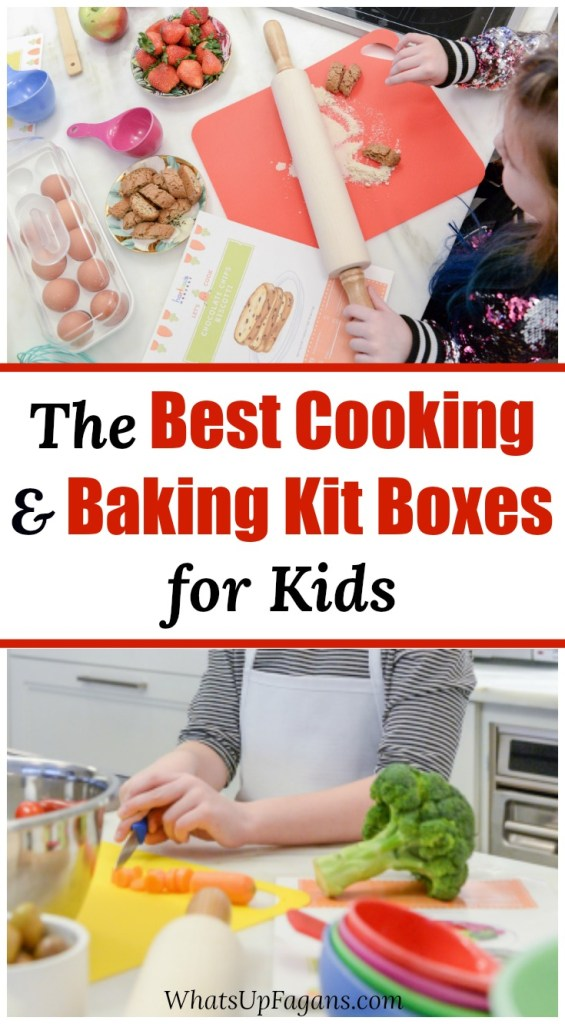 the best food subscription boxes for kids - teach kids how to cook and bake with cooking and baking kits for kids