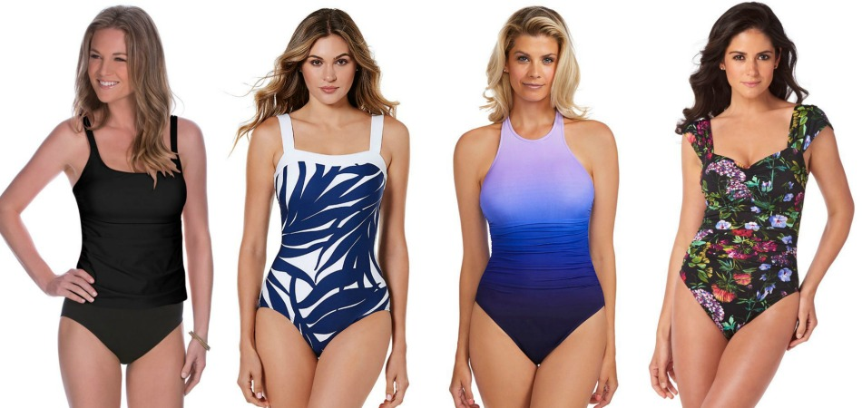 4623598845677 With many figure-flattering yet modest swimsuits, Miraclesuit swimwear  delivers fit, form and function with style. They offer a host of sizing  options, ...