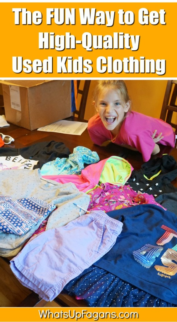 used kids clothing from Kids on 45th review - fun way to get high-quality clothes