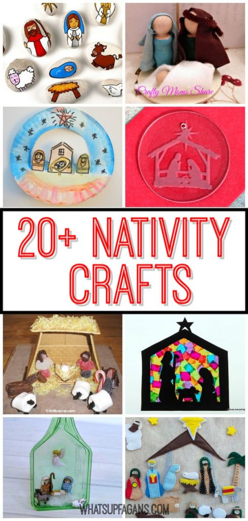 Want some nativity crafts to decorate your home to do with kids, perhaps with your Sunday school kids? Then read on for some fantastic easy nativity craft ideas!