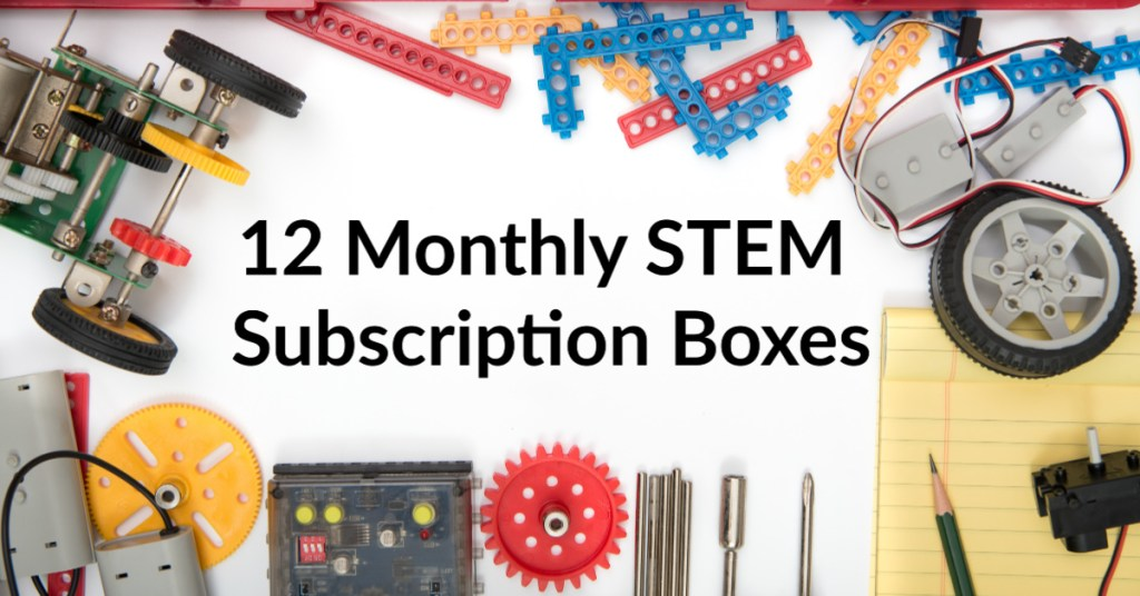 12 monthly stem subscription boxes for kids