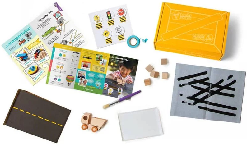 Koala Crate preschool box from Kiwi Crate - explore crafts and learning with this preschool subscription box