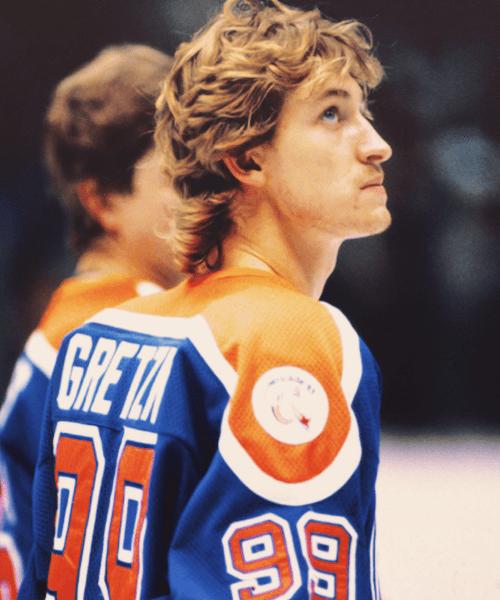 Gretzky, Wayne - oilers flow