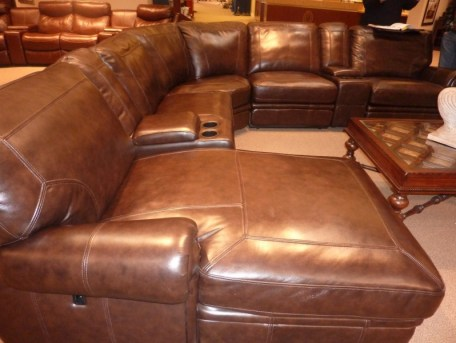furniture expo living leather products recliner brown sectional sectionals kane s power reclining piece room