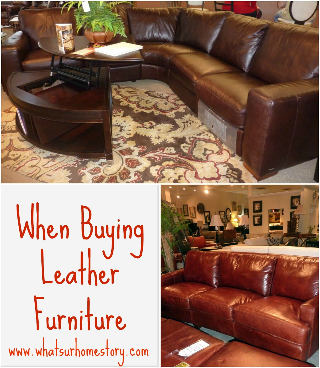 3 quick tips about buying leather furniture
