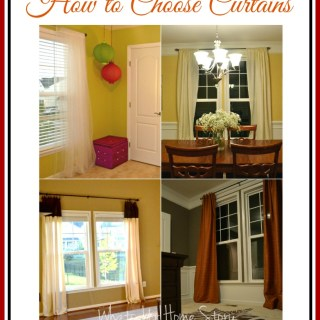 types of curtains,curtainsguide,how to choose curtains