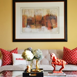 Whats Ur Home Story: Living room makeover,, Sherwin Williams August Moon