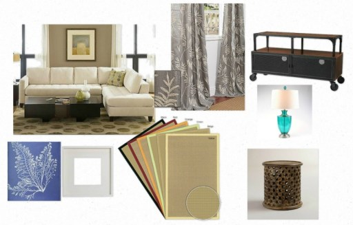 Same Look 4 Less   Neutral Family Room Ideas